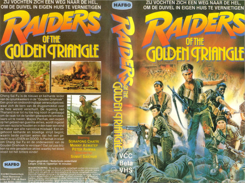 [cinemageddon org] Raiders Of The Golden Triangle [HK/Thailand] [1985/VHSRIP/XViD] preview 0