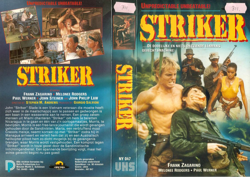 [cinemageddon org] Striker [A I P  Project] [Italy/USA] [1987/VHSRIP/XViD] preview 1